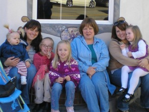 Me, my mom, and my sister during our annual trip to Leavenworth in 2006
